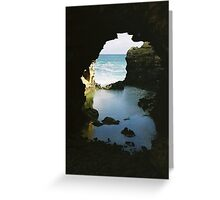 Grotto - Great Ocean Road, Victoria Greeting Card