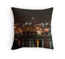 Industrial Romance Throw Pillow