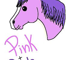 Here's a sneak peak of a cute Pink and Purple Pony! by PinkPurplePony