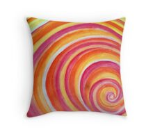 Candy Swirl Throw Pillow