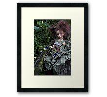 Lyre Framed Print