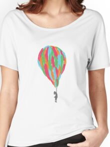 Feather Balloon Women's Relaxed Fit T-Shirt