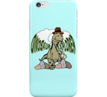 Cartoon Tyrannosaurus Dinosaur Explorer  iPhone Case/Skin