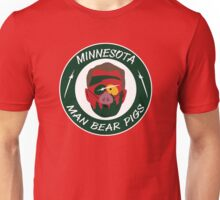 Minnesota Man Bear Pig Unisex T-Shirt