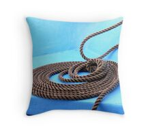 Rope Trick...Central America Throw Pillow