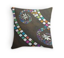 Swirl Throw Pillow