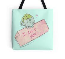 Bulbasaur Valentines Tote Bag