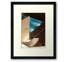 night dive Framed Print