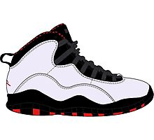 "Air Jordan X (10) ""Chicago"" Photographic Print"