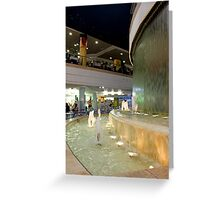 sounds of water... Greeting Card