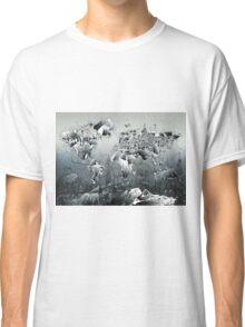 World Map landmarks 2 Classic T-Shirt
