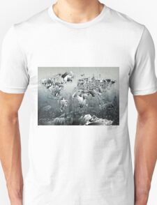 World Map landmarks 2 T-Shirt