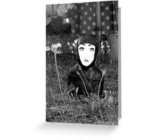 The Black Ninja - Code Brown Greeting Card
