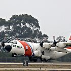 Coast Guard Foggy Takeoff by Michael  Moss