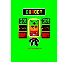 GARBOT Green Background Photographic Print