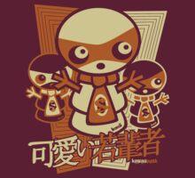 Snowman Mascot Stencil by KawaiiPunk