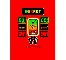 GARBOT Red Background Photographic Print