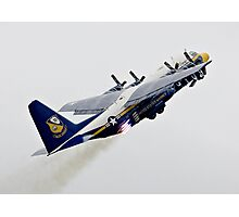 Fat Albert - Blue Angels Support Hurcules Photographic Print