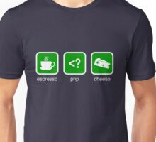 Espresso PHP Cheese (Green) Unisex T-Shirt