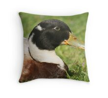 Deloraine Duck Throw Pillow