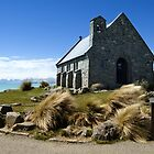 Church of the Good Shepherd, New Zealand by Anthony and Kelly Rae