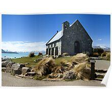 Church of the Good Shepherd, New Zealand Poster
