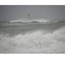 Storm Waves - Kennebunk Beach ME Photographic Print