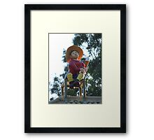 Hans - The Ice-Cream Licker Framed Print