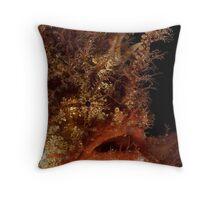 Tasselled Anglerfish Throw Pillow