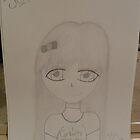 drawing of megan my angel!! by xXLauraXx