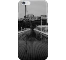 Cold desolate pier iPhone Case/Skin