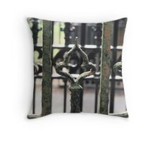 Gate at Cambo Estate Throw Pillow