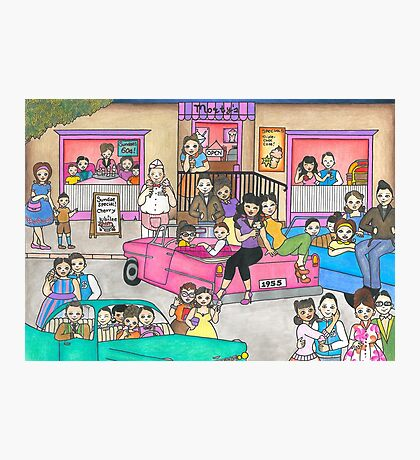 Morty's Diner Photographic Print