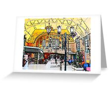 Train Station Quebec  Greeting Card