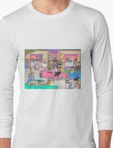 Morty's Diner Long Sleeve T-Shirt