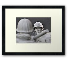 The Korean Memorial Study (4) Framed Print