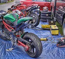 Team Ducati, Teretonga by Antony Burton