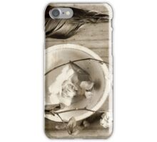 Silence ... iPhone Case/Skin
