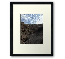 Horse Thief Canyon Crawl Framed Print