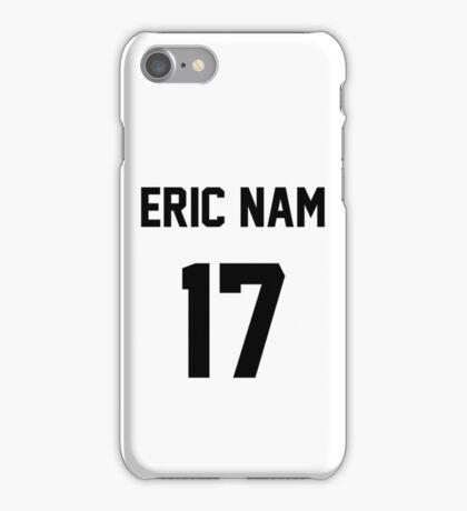 Eric Nam Jersey iPhone Case/Skin