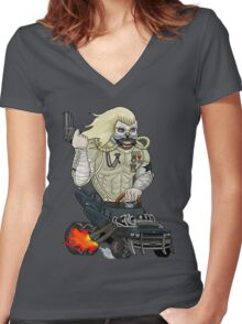 Immortan Joe - Mad Max: Fury Road (Ed Roth Tribute) Women's Fitted V-Neck T-Shirt