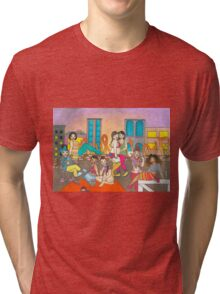 Ice Cream Party Tri-blend T-Shirt