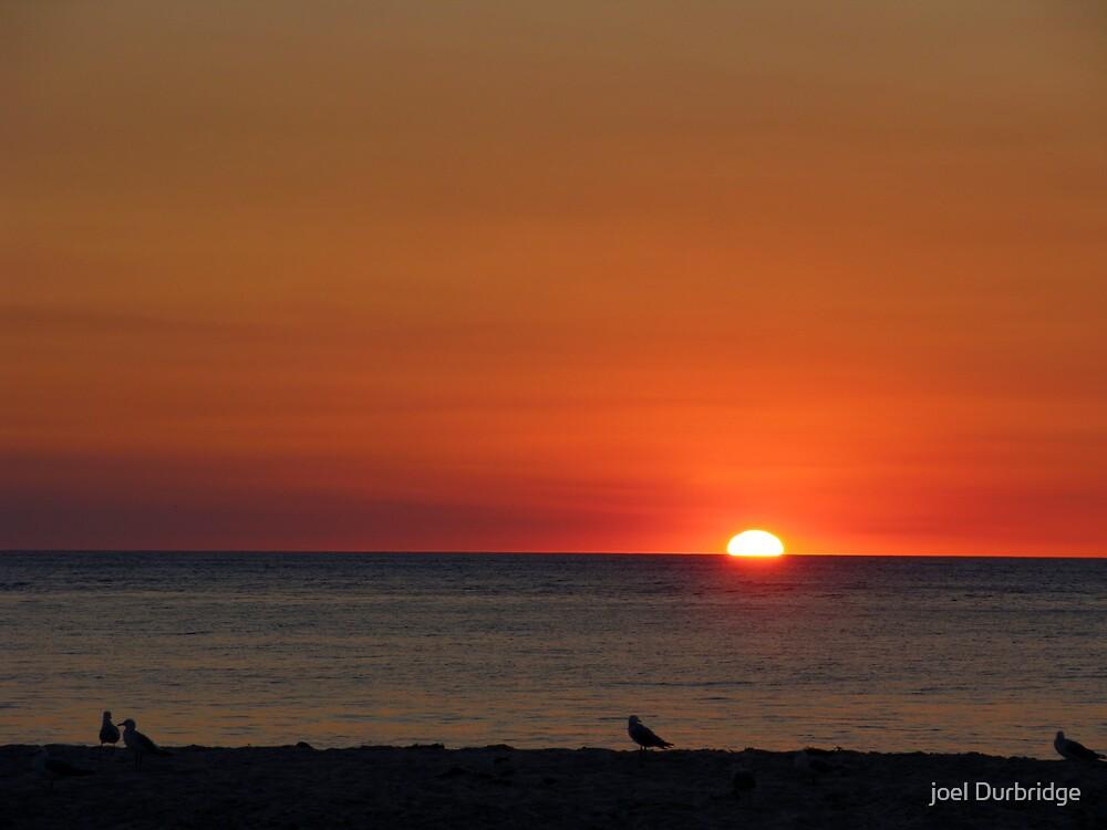 calm sunset by joel Durbridge
