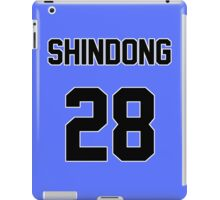 Super Junior Shindong Jersey iPad Case/Skin