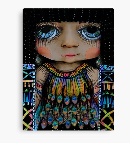Little Cleopatra Canvas Print