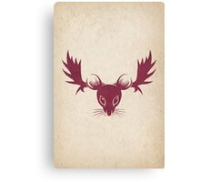 Moose Mouse Canvas Print