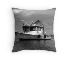 Resting Place...Livingstone,Guatamala Throw Pillow