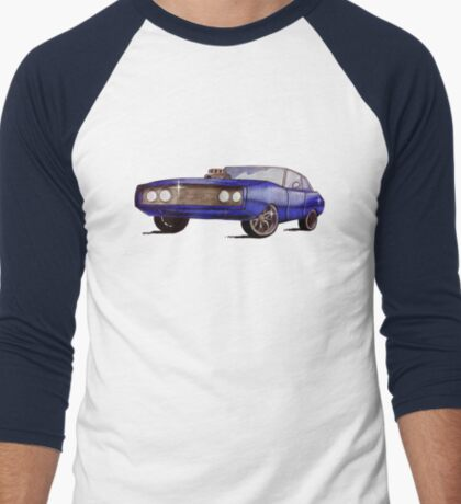 Classic Dodge Charger Men's Baseball ¾ T-Shirt