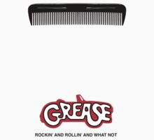 Grease Minimal Movie Poster Kids Tee