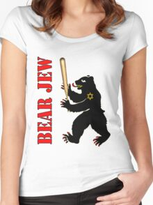 Bear Jew Inglorious Basterds (Bastards) Women's Fitted Scoop T-Shirt